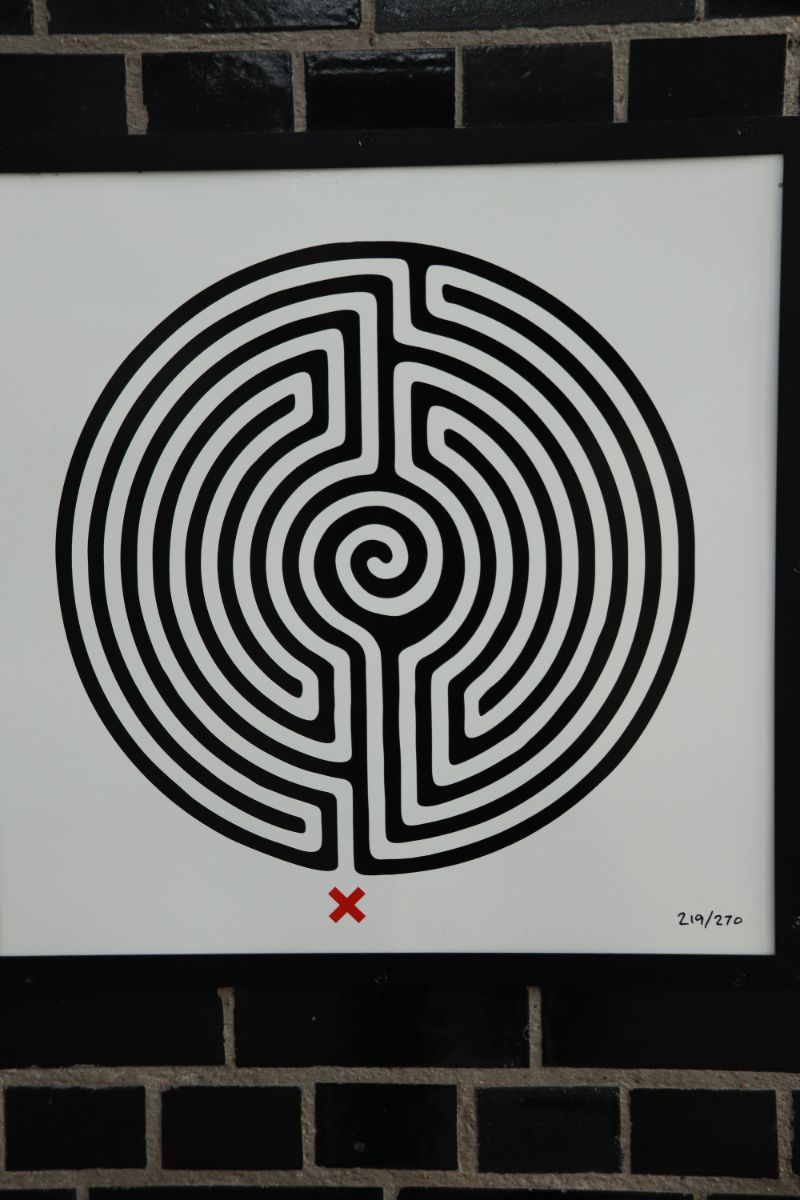Every TfL Underground station has a maze mural secreted somewhere
