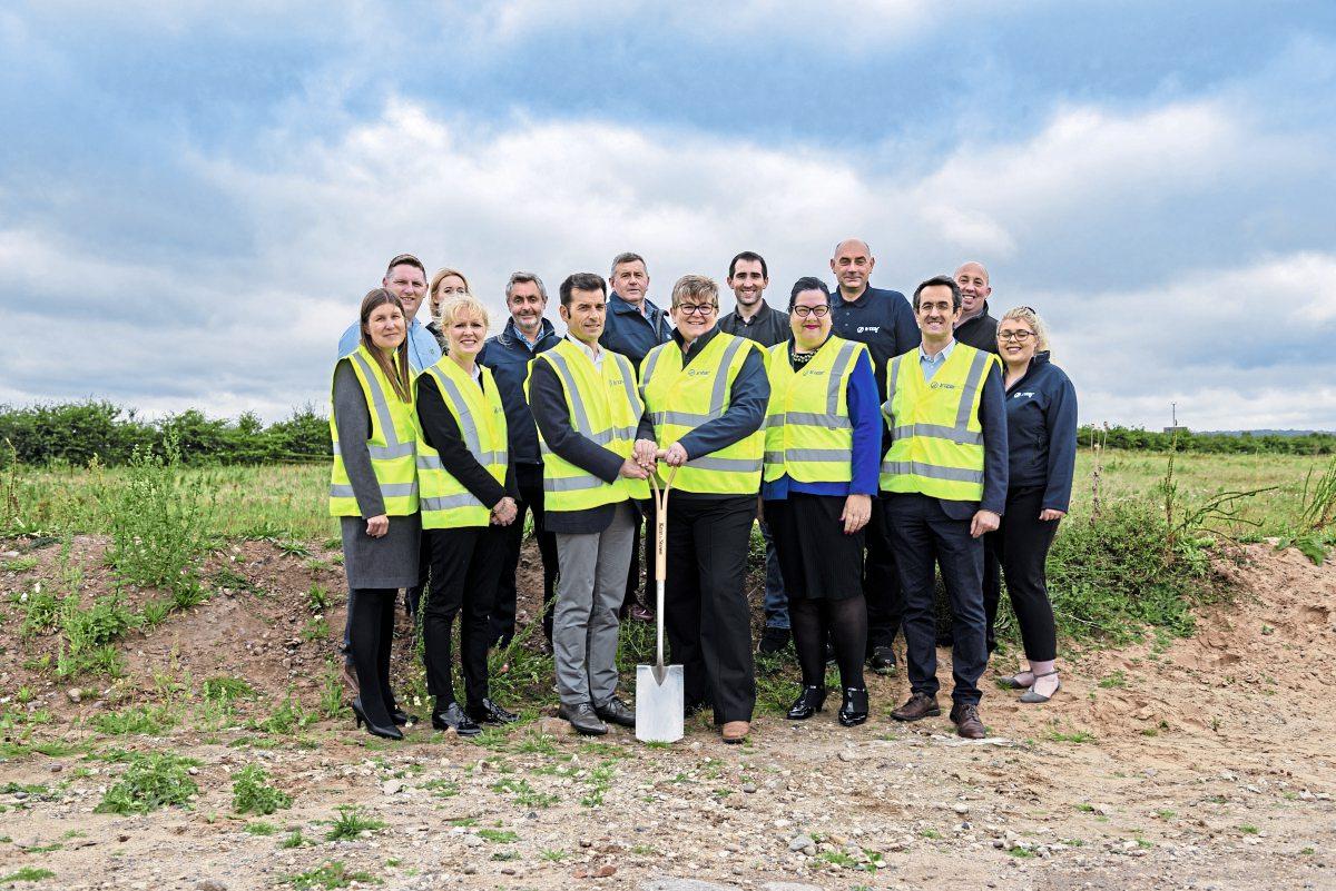 Irizar UK starts building at Blyth