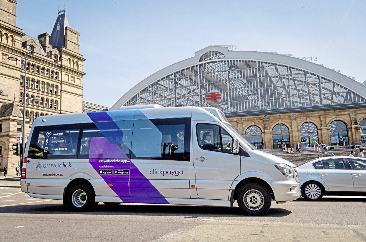 ArrivaClick encourages public transport use, says survey