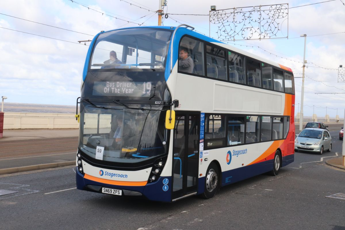One of two Stagecoach Manchester ADL Enviro400 MMCs with 69 plates that were enjoying their first day on the road