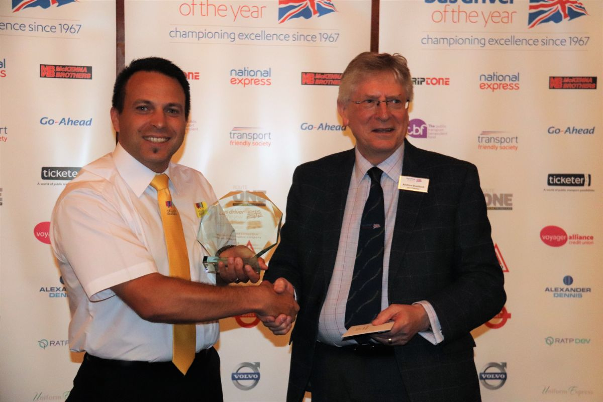 The Highest-placed competitor from an independent company was Marks Nobrega of Yellow Buses – Bournemouth Transport, earning him a BDOY Trophy and a £1,000 cheque