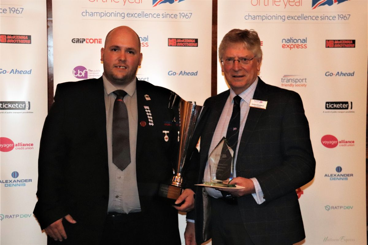 Craig Lockyer was the second highest placed National Express competitor. Employed by National Express West Midlands, Craig had been the Bus Driver of the Year in 2016