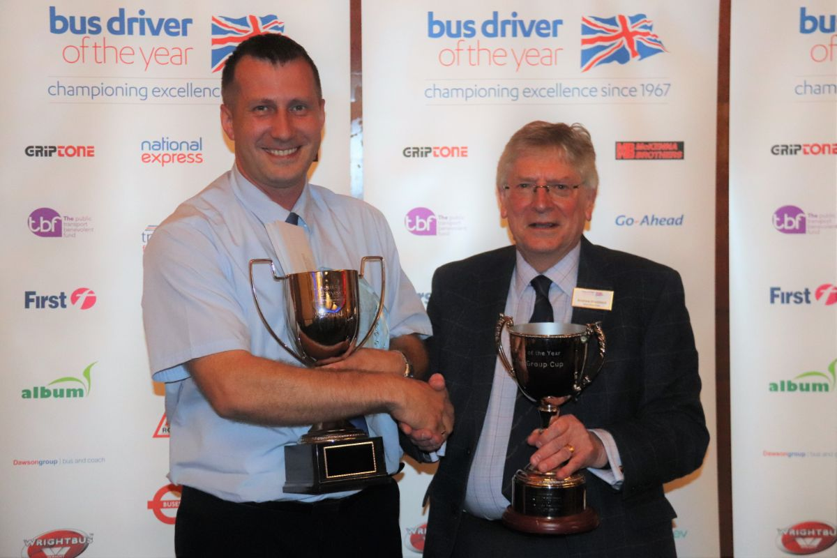 Second overall was the remarkably consistent Adam Ksiazek of First Aberdeen who was the Bus Driver of the Year in 2017. He was also the highest placed First competitor and the highest placed competitor from a ROSCO affiliated operator