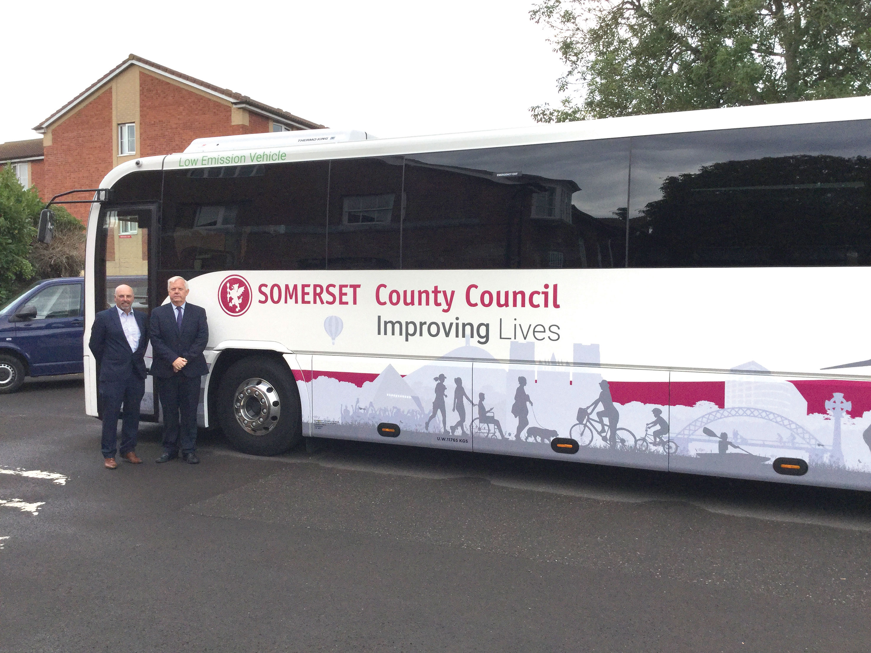 Council runs coaches to 'up' the competition