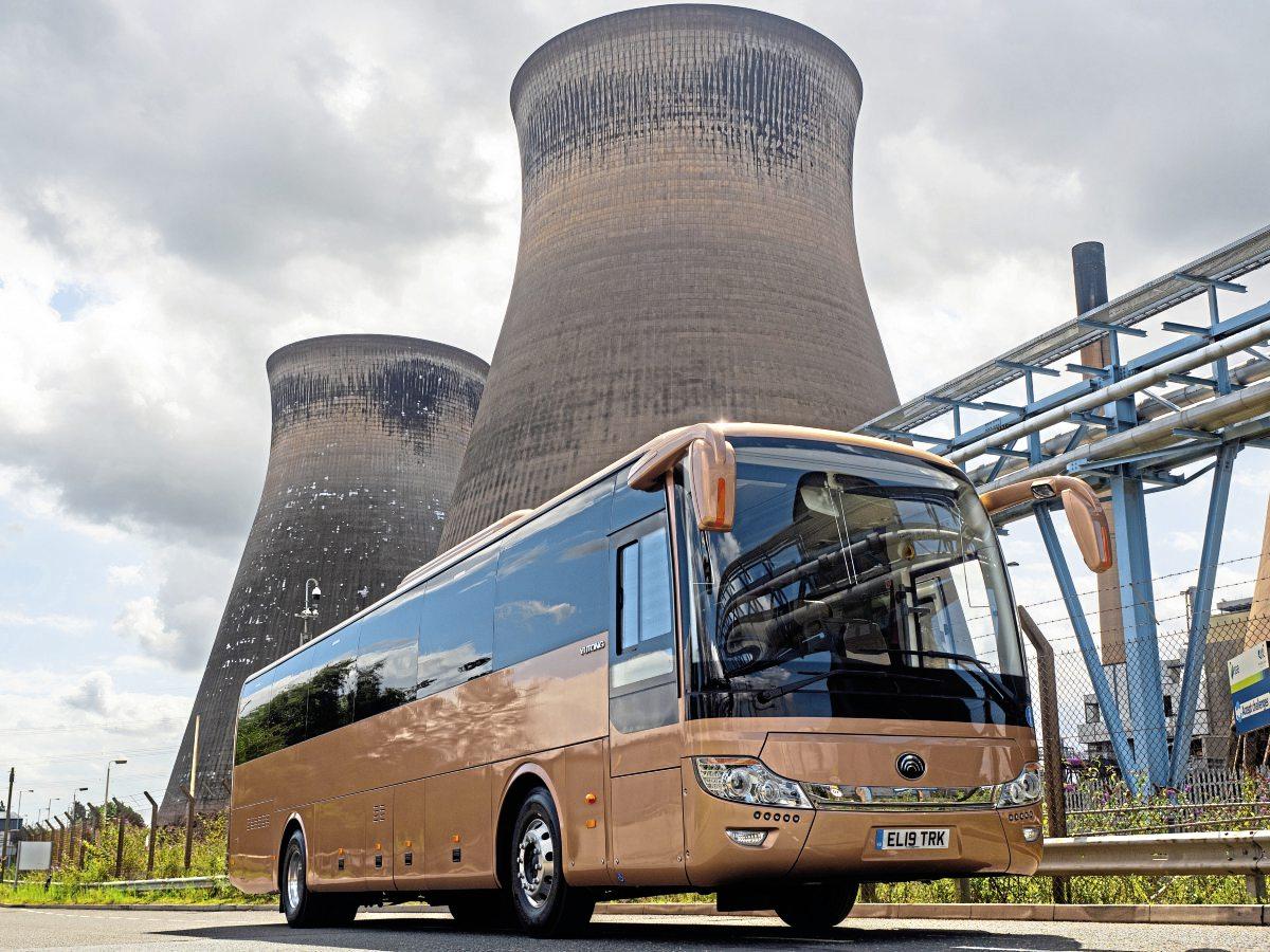 Electric coach for Showbus