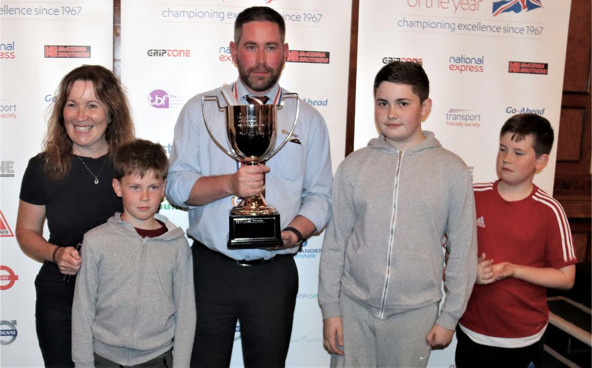 Lothian's Stitt scoops win at Bus Driver of the Year