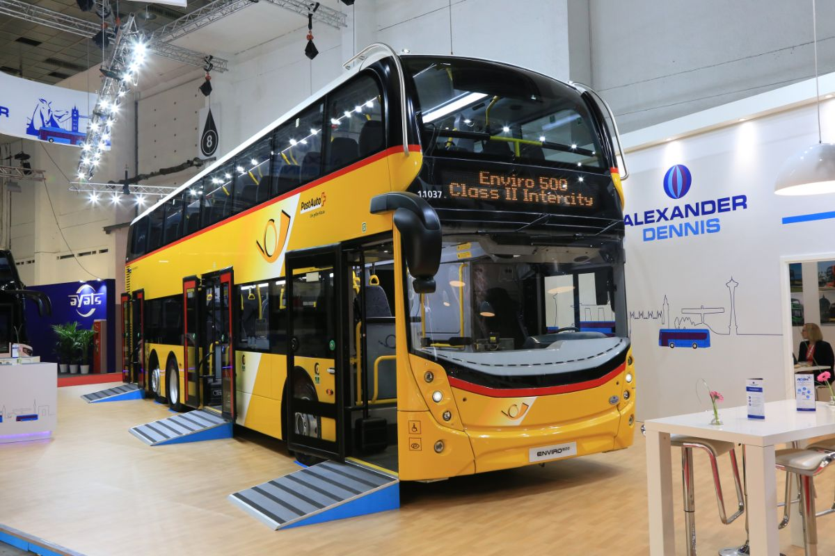 Bigger Busworld at Brussels