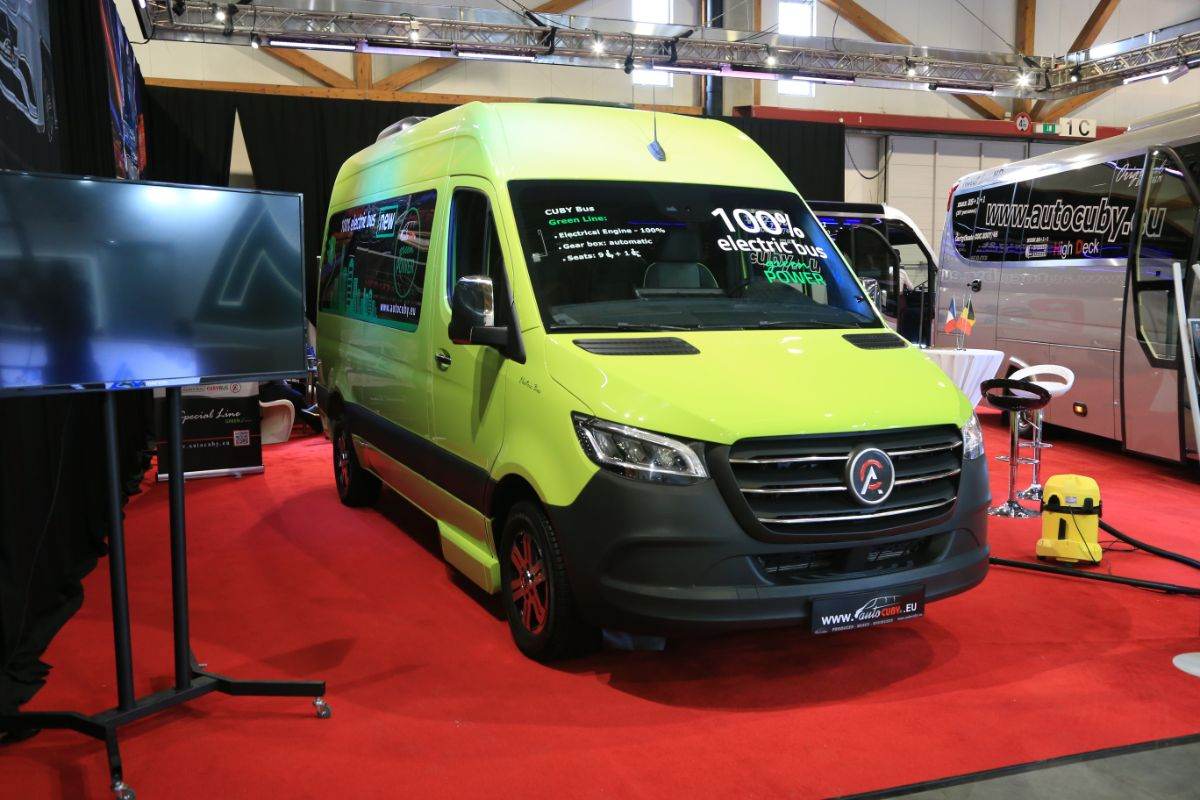 Auto-Cuby Sprinter electric