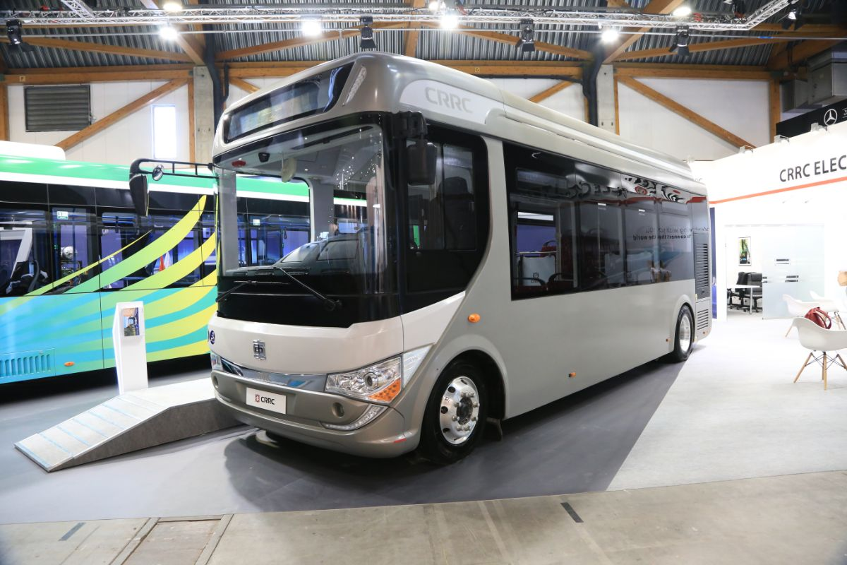 CRRC 8.5m electric bus