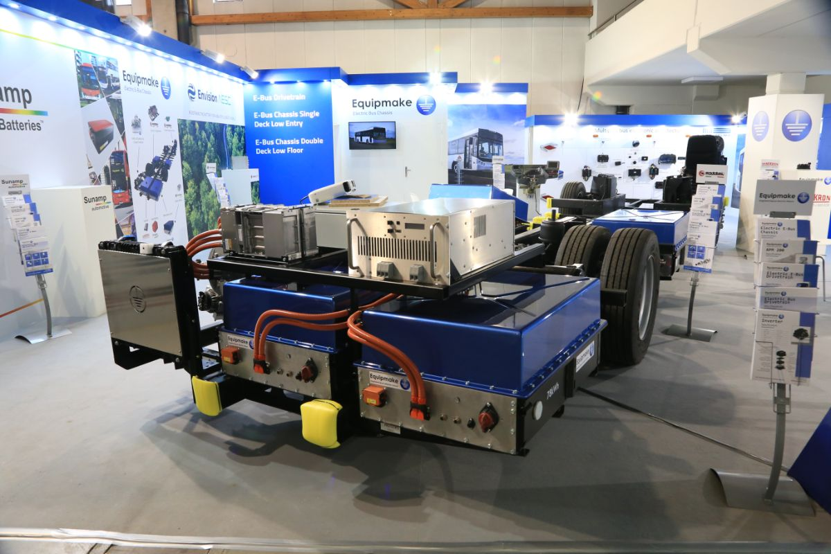 Equipmake electric DD chassis