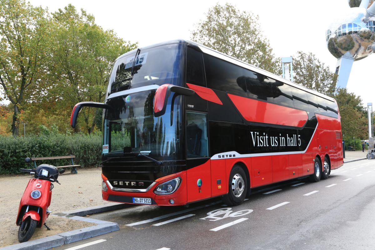 Evobus Setra S531DT (outside)