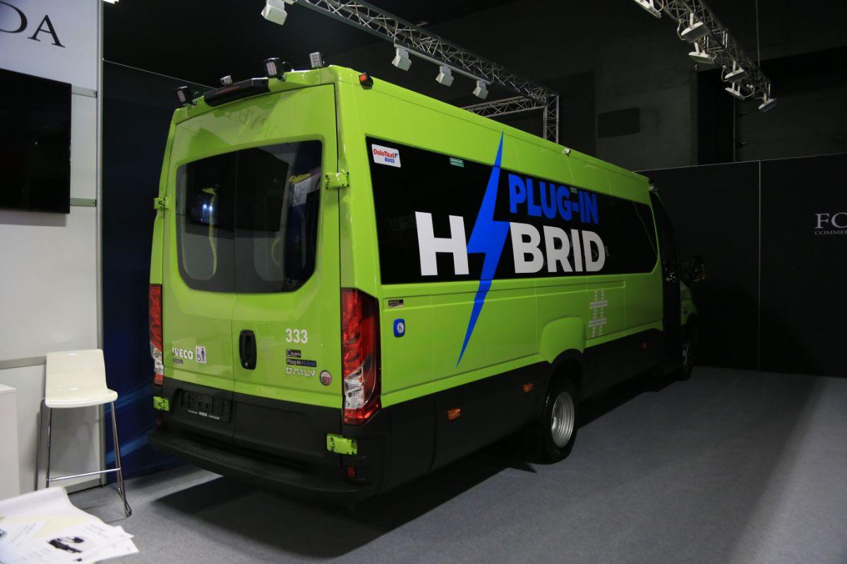 Forveda Iveco Daily hybrid