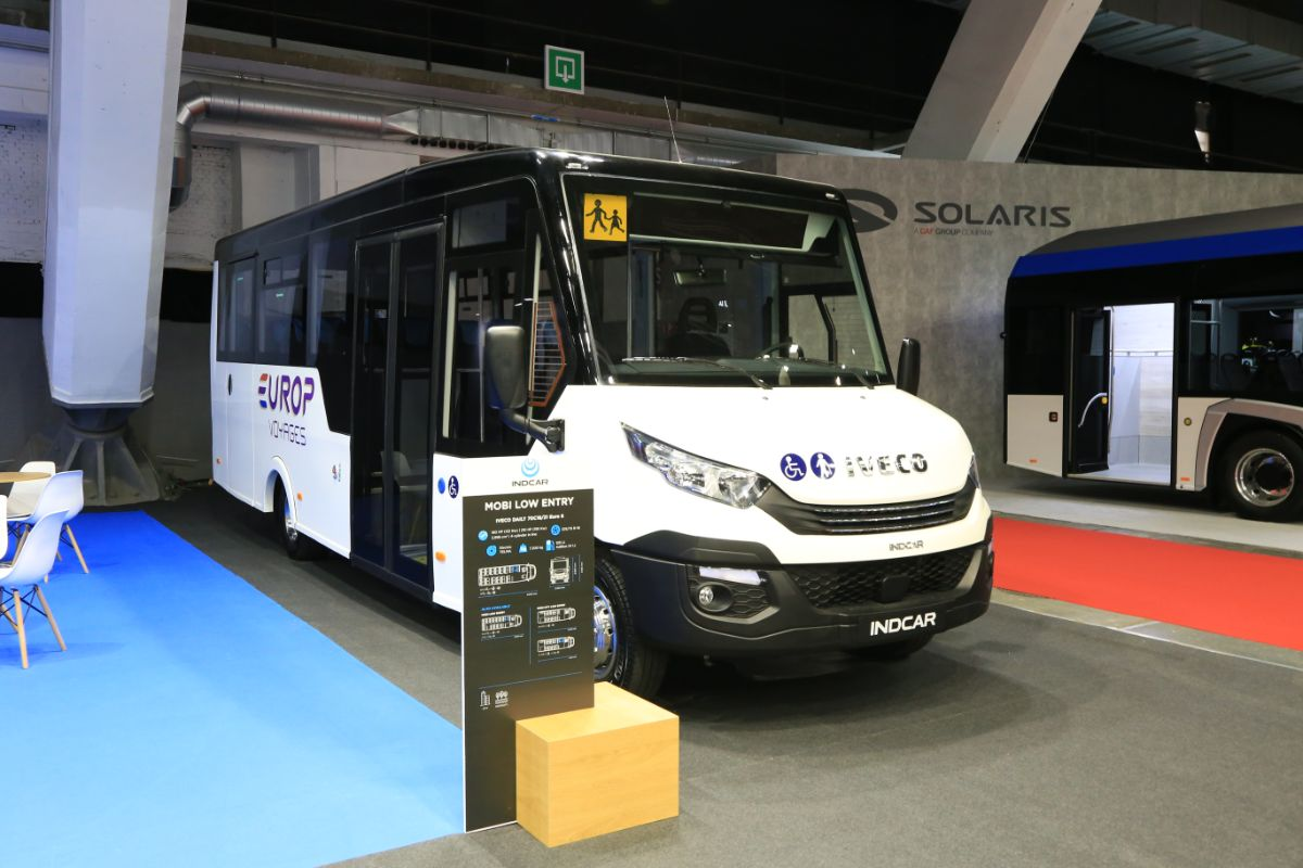 Indcar Iveco Mobi Low Entry