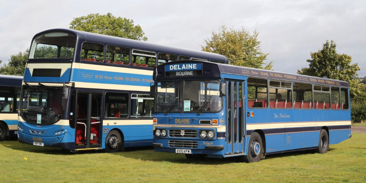 Delaine's smart buses