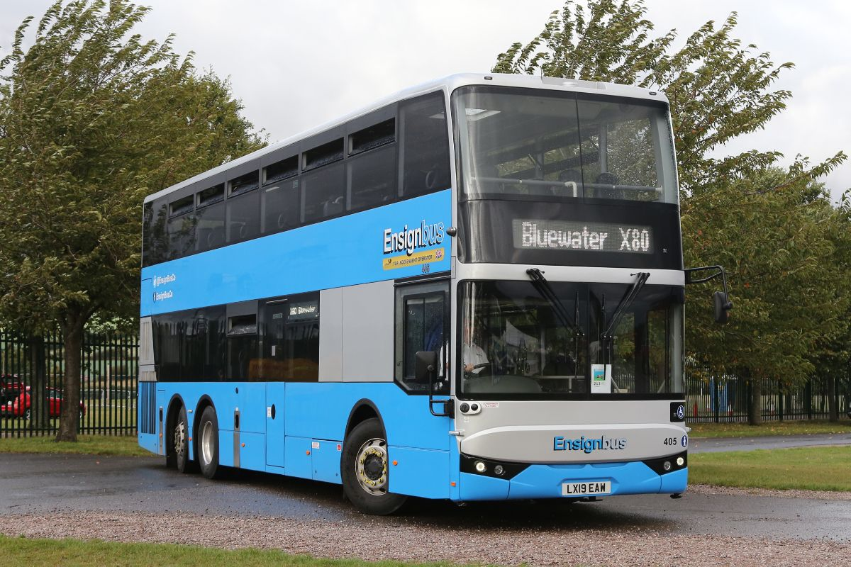 Amongst Ensign's wide range of entries was one of the latest BCI Excellence double-deckers that entered service during the summer