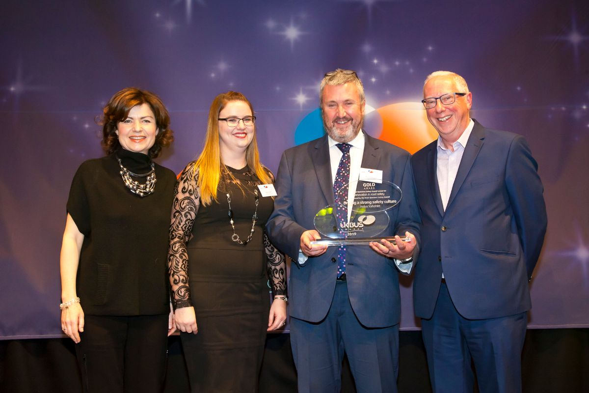 ROSCO Award for Innovation in Road Safety - Arriva Yorkshire – Driving a strong safety culture