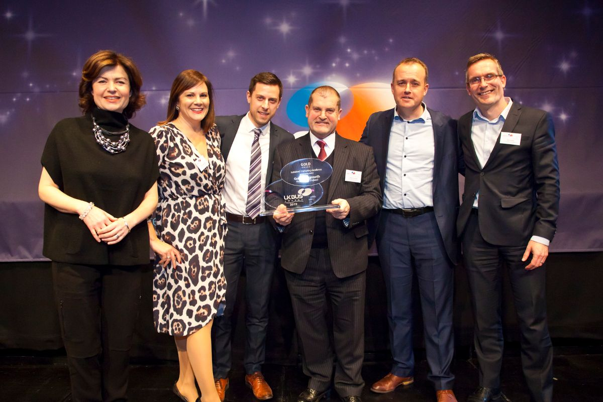 Sustained Marketing Excellence sponsored by Global - First West of England – Going for Growth