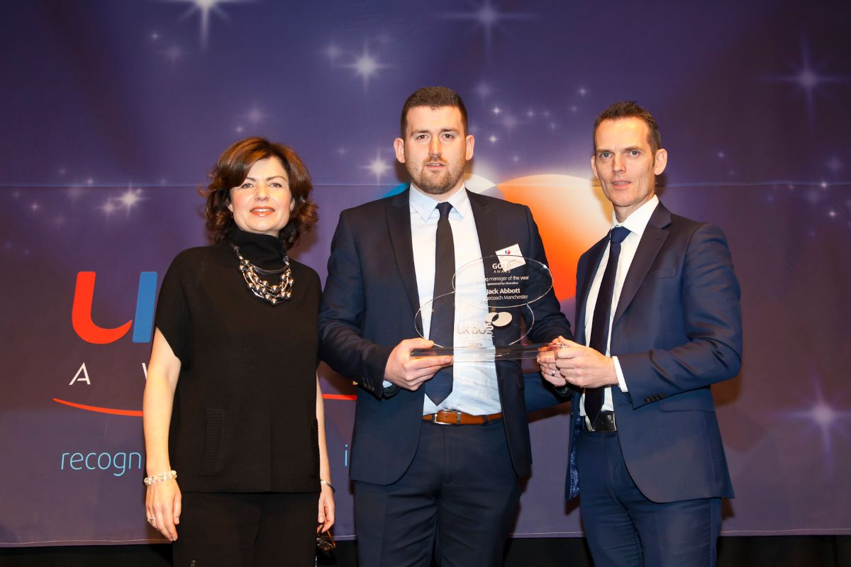 Young Manager of the Year sponsored by Metroline - Jack Abbott – Stagecoach Manchester