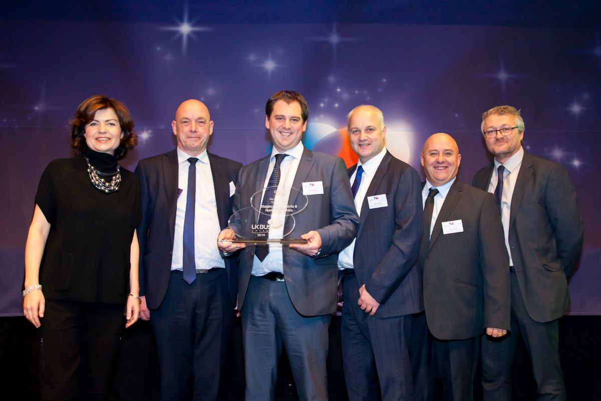 Top Shire Operator sponsored by Ticketer - Stagecoach Cumbria & North Lancashire