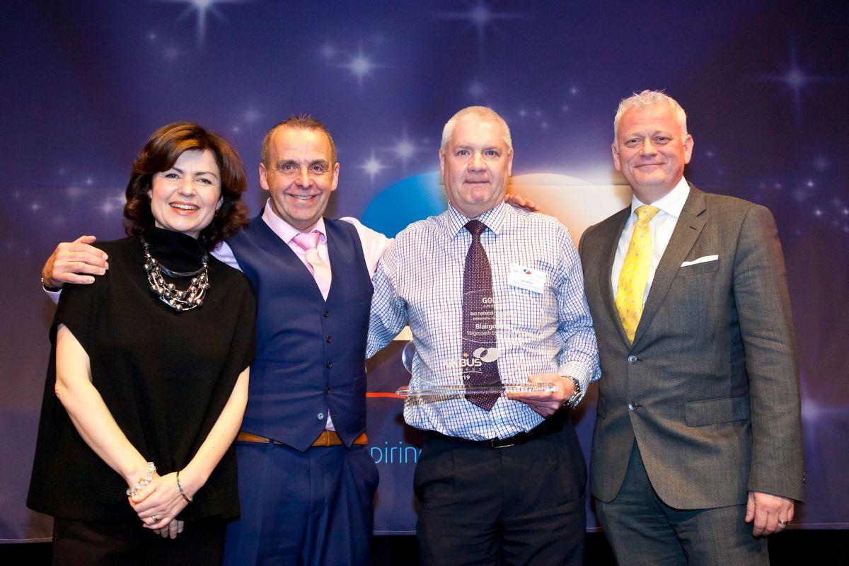 Top National Bus Depot sponsored by Personal Group  - Blairgowrie, Stagecoach East Scotland
