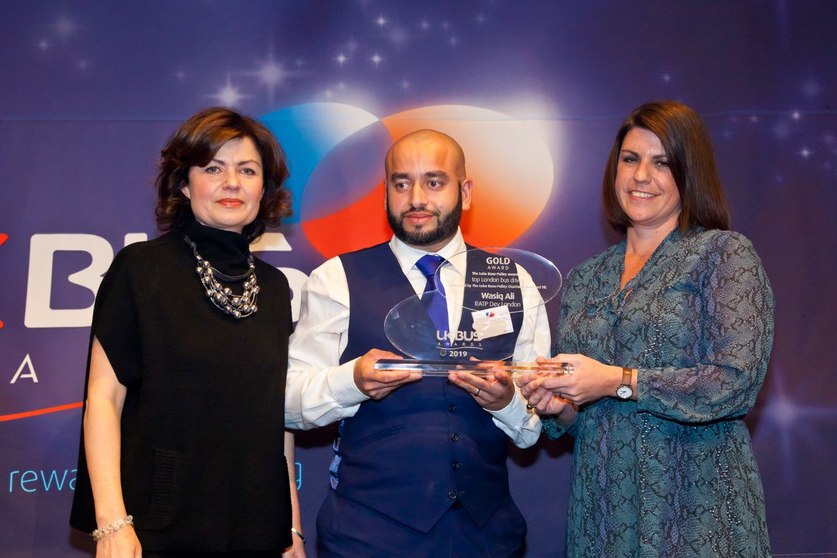 Top London Bus Driver sponsored by TfL and Luke Rees-Pulley Charitable Trust - Wasiq Ali – RATP Dev London