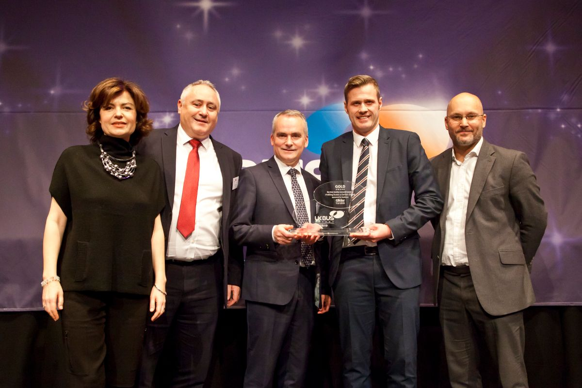Making Buses a Better Choice: The Peter Huntley Memorial Award sponsored by Heathrow  - Translink - Glider