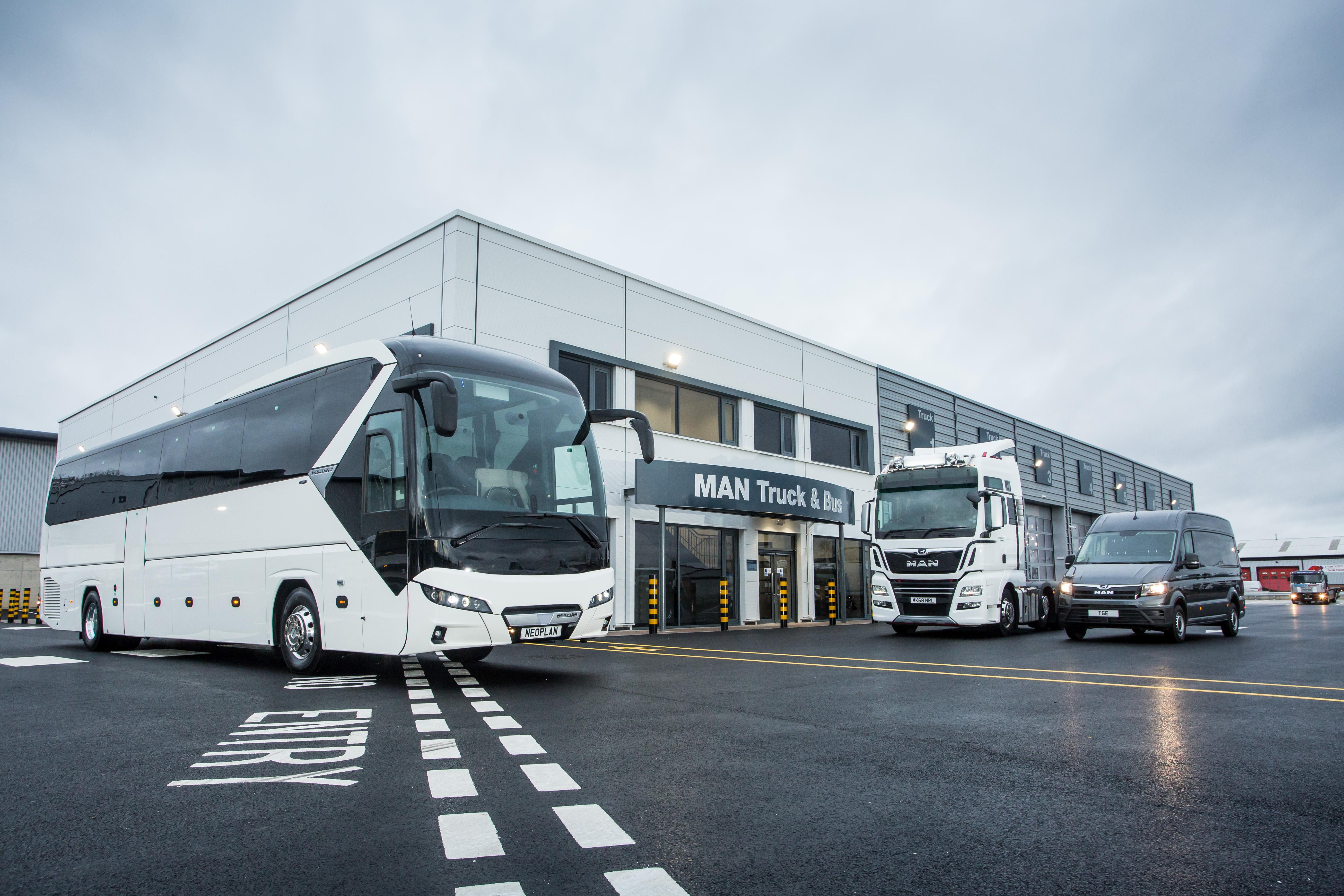 MAN opens new Gateshead dealership