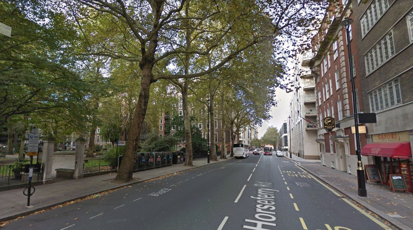Westminster closes coach parking spots