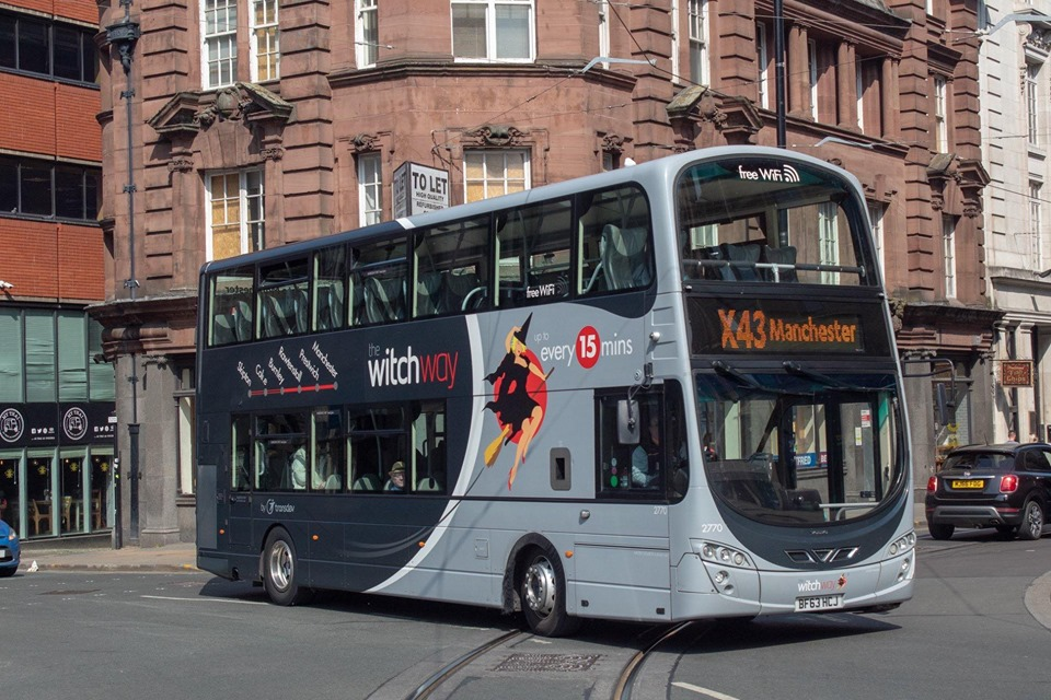 Manchester bus block criticised by Transdev