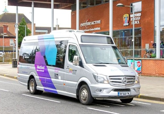 ArrivaClick launches in Watford