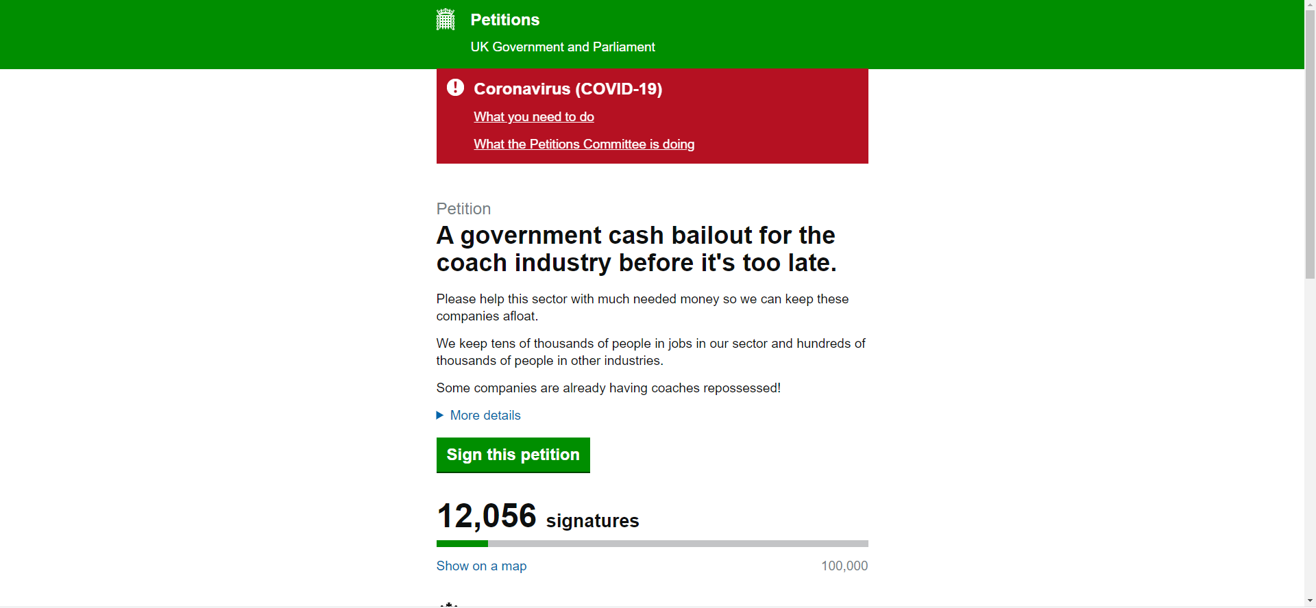 Thousands sign petition to save coaches