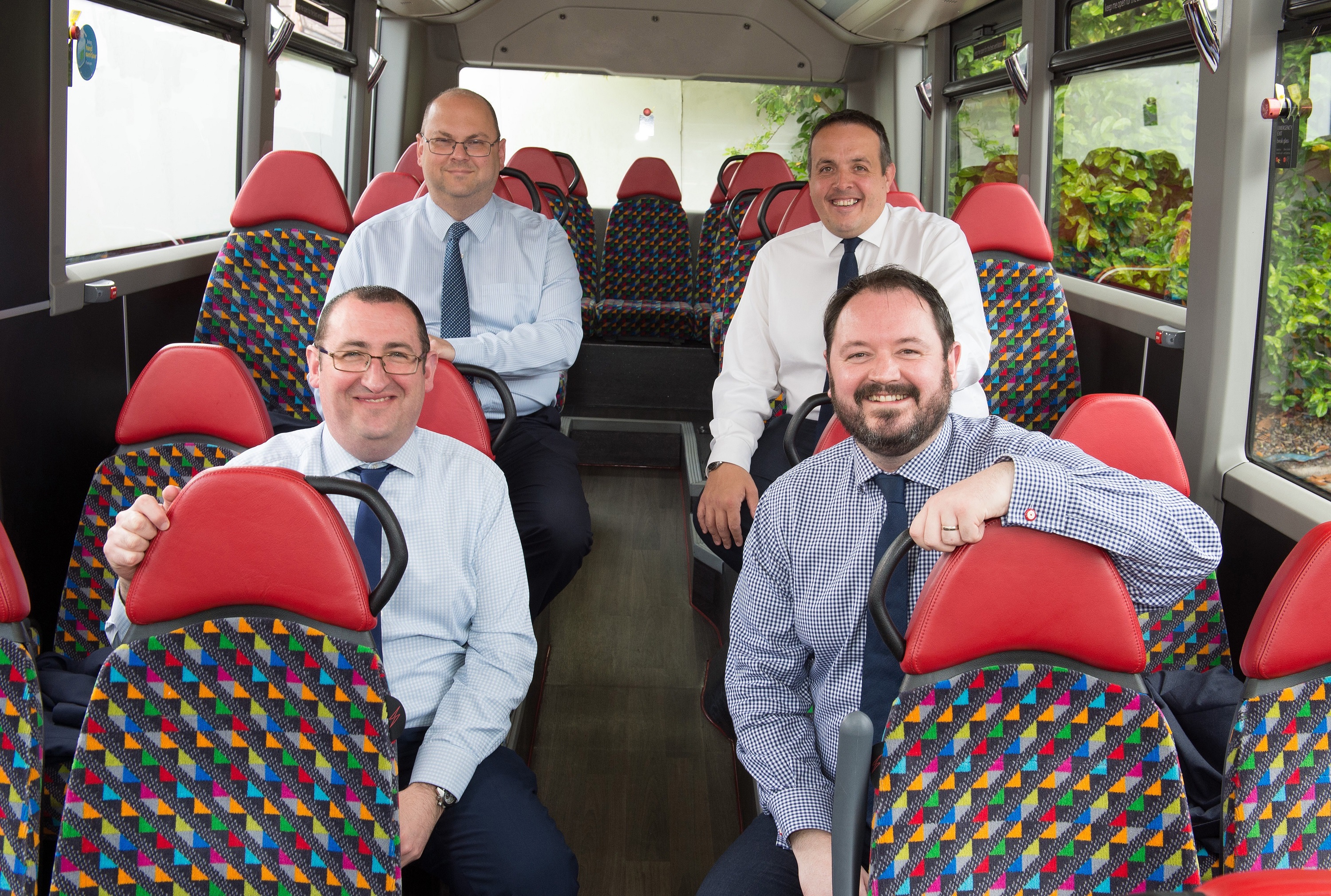 Transdev duo move up to board