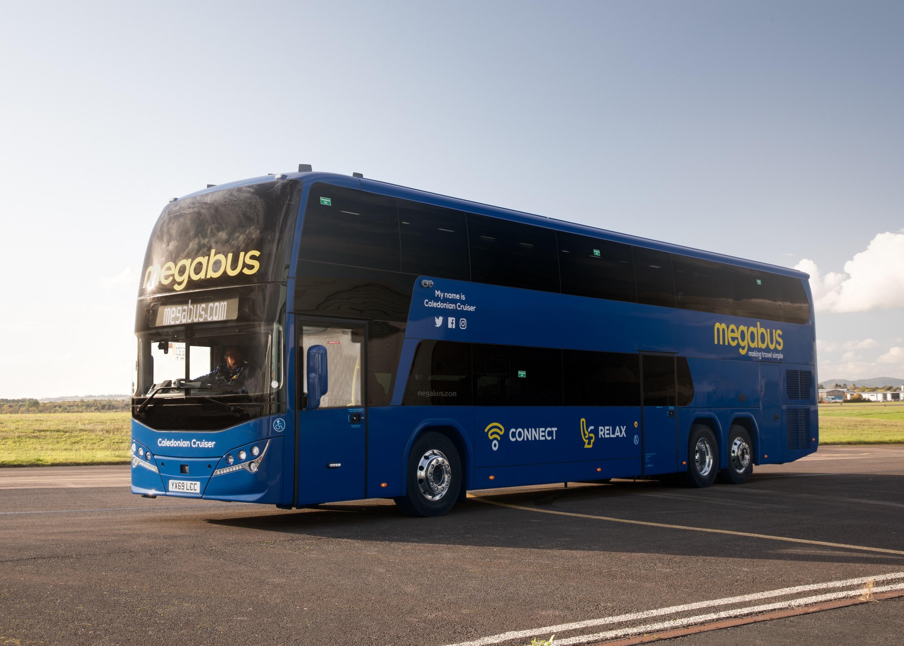 megabus in exclusive TUI team-up