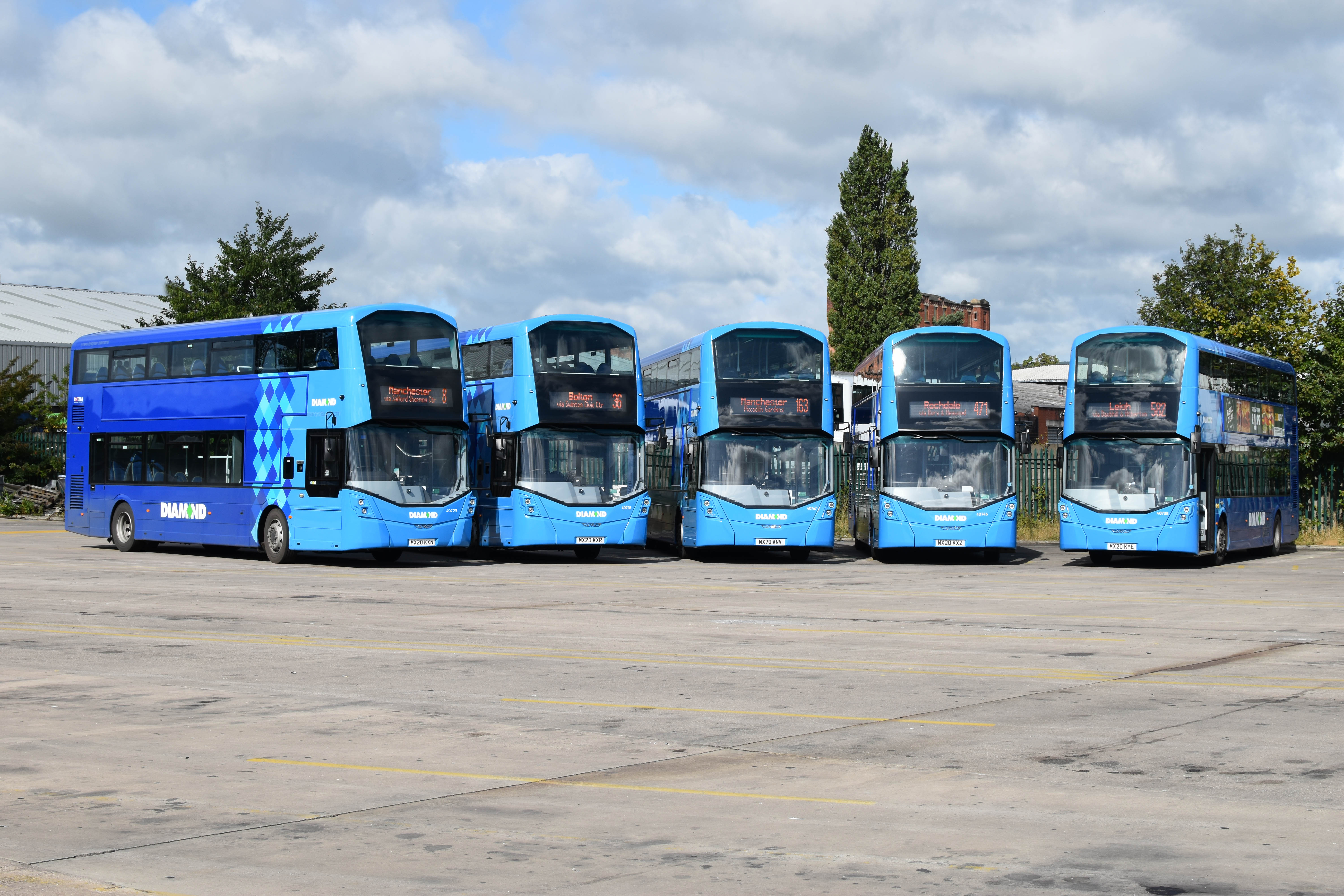 Positive fortnight for Diamond Bus North West