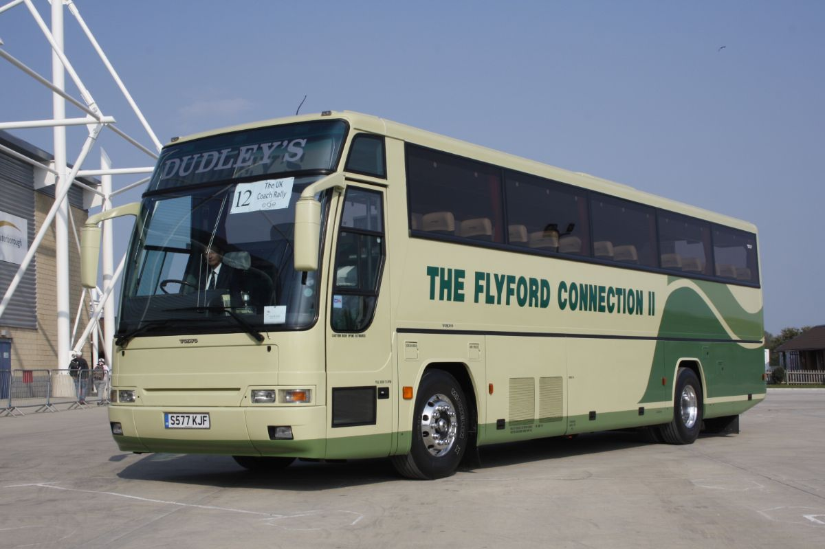New to Fowler's of Holbeach Drove in 1999, this Plaxton Excalibur Volvo B10M arrived at Radford in June 2006 and continues to serve