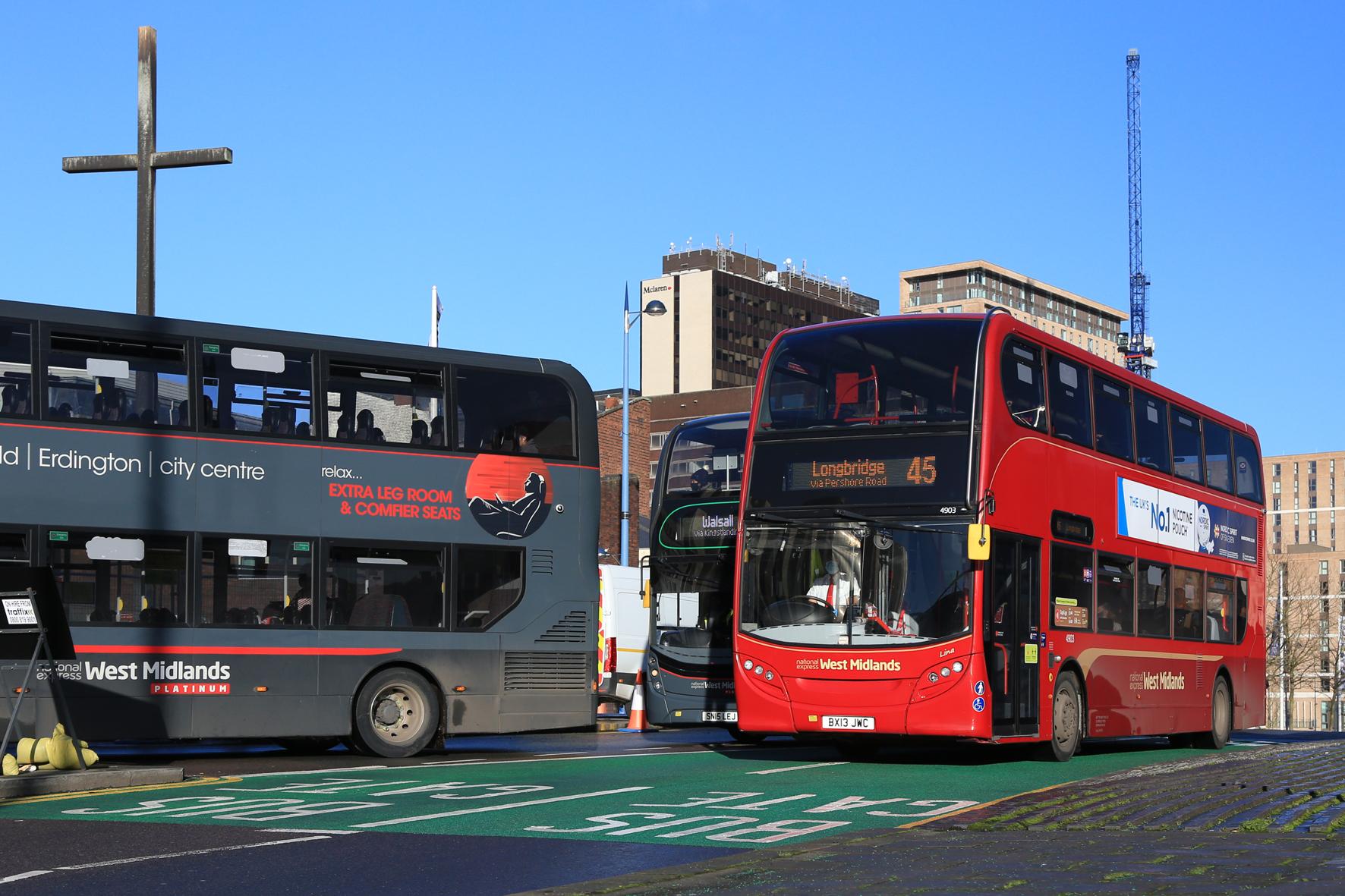 Birmingham bus gate now operational