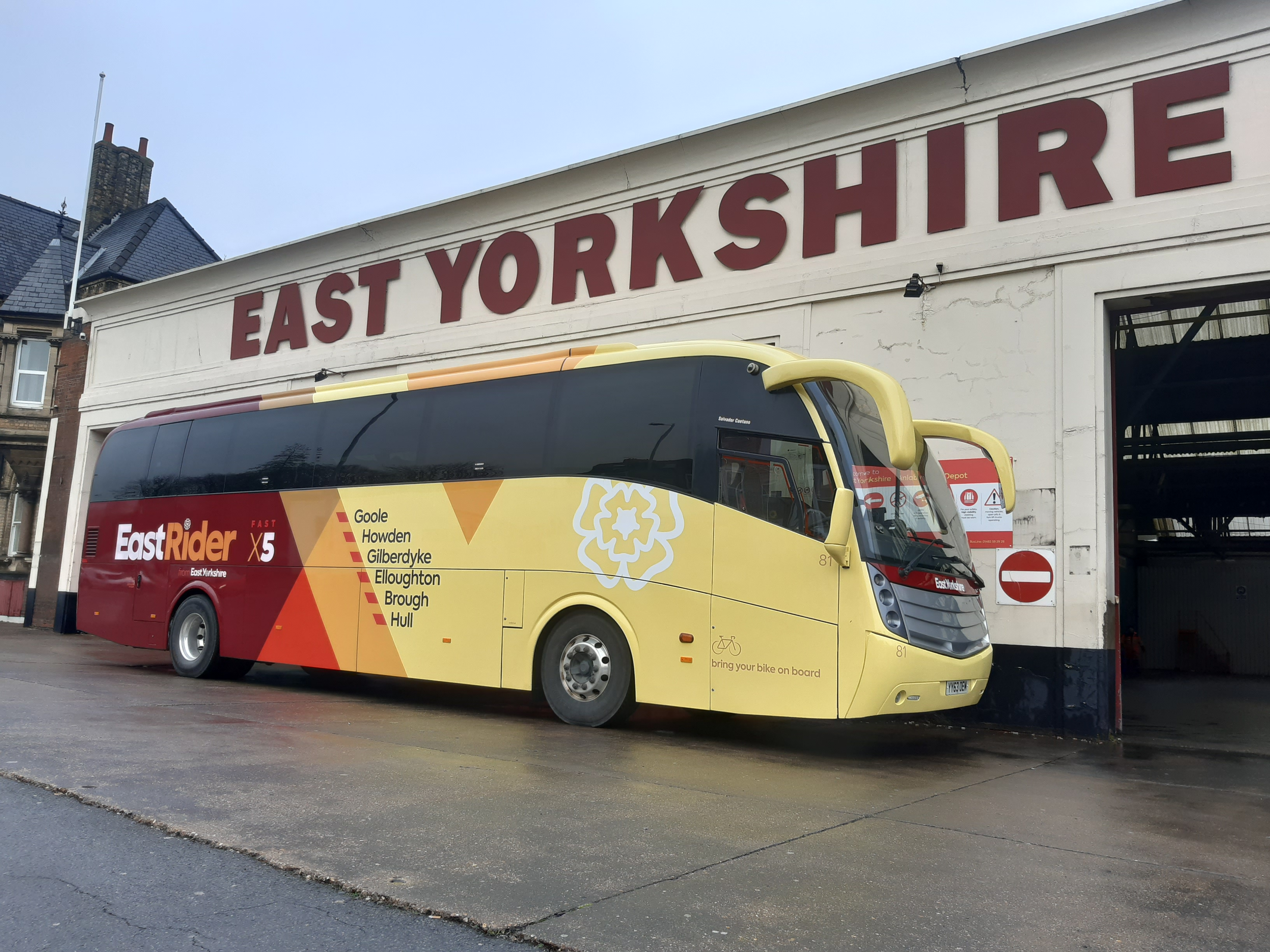 East Yorkshire puts Levante on new express service