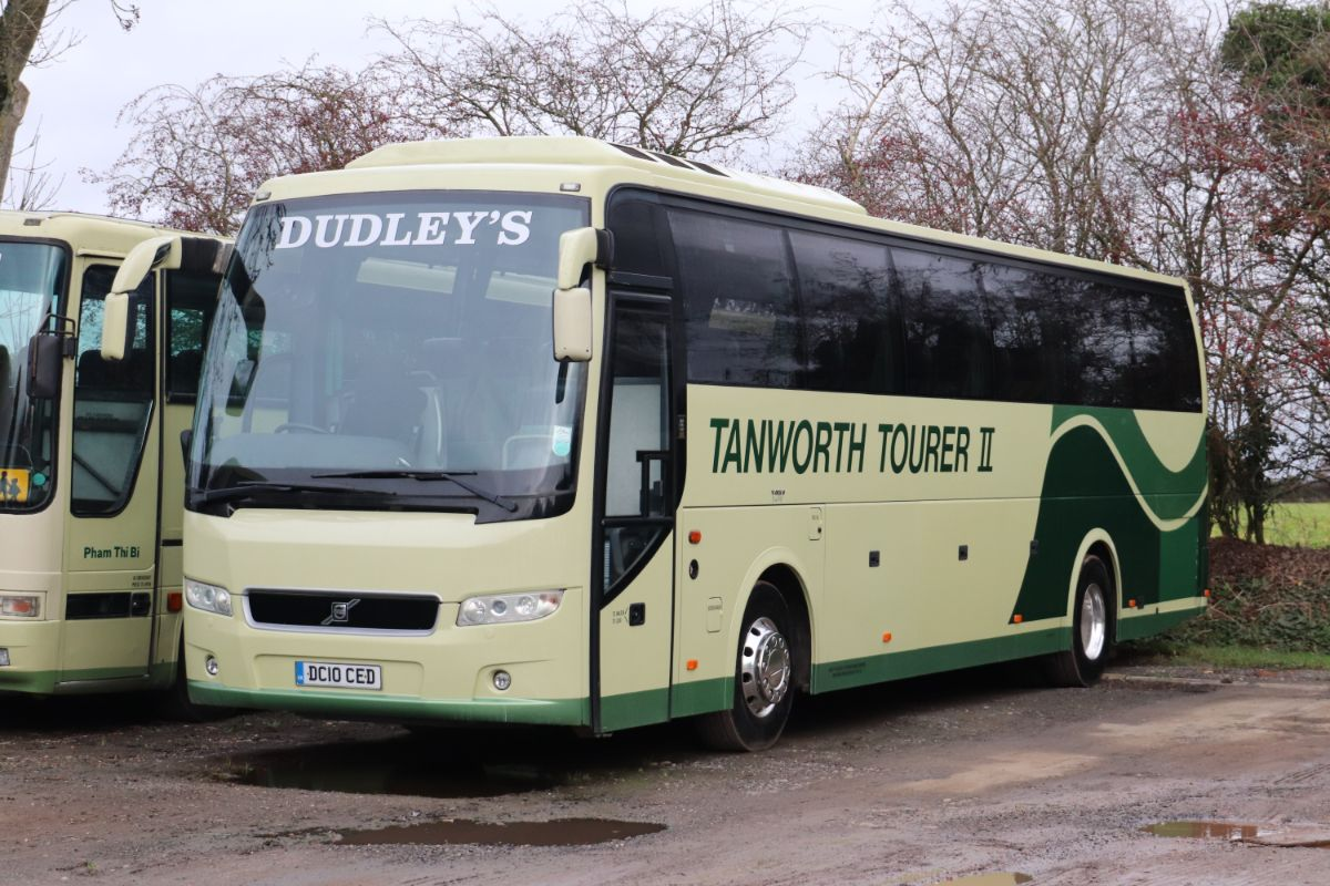 2010's major investment was this new all-Volvo B12R with Prestige Plus coachwork seating 49