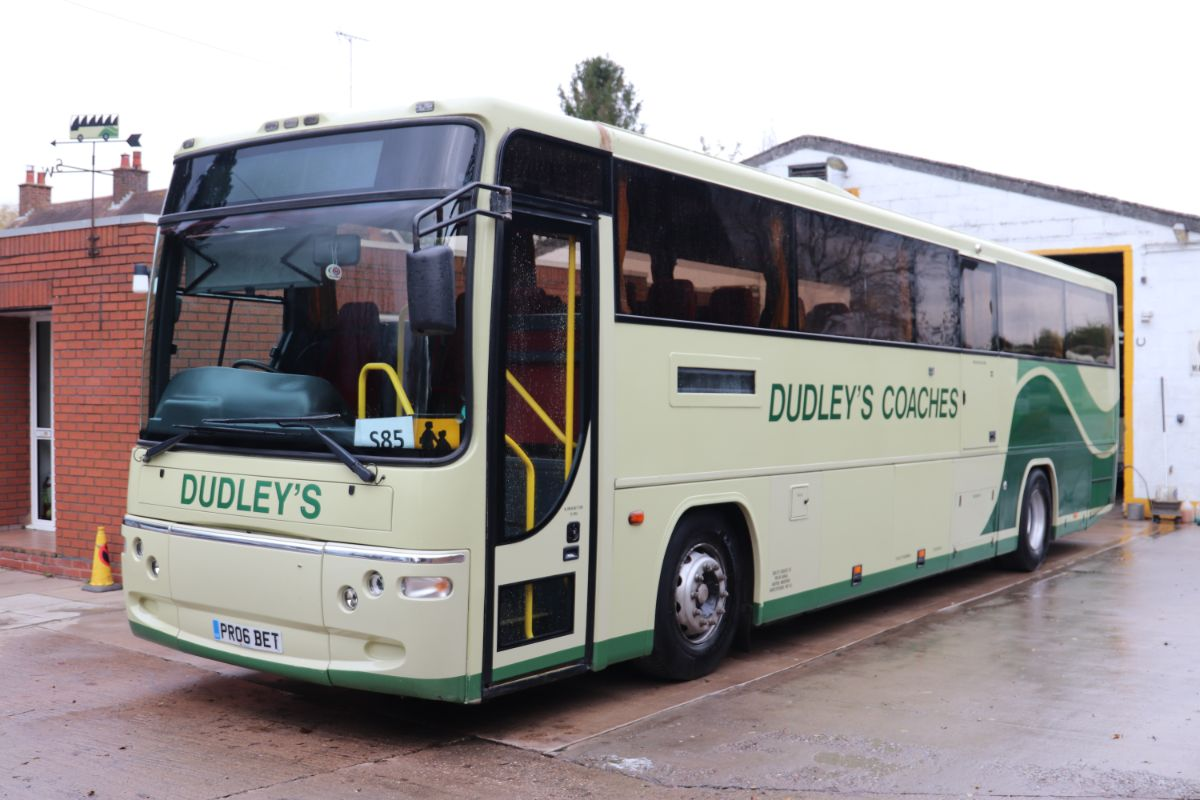 Built to DDA/PSVAR regulations from new, this Volvo B7R Plaxton Profile was acquired from Prospect Coaches when two years old