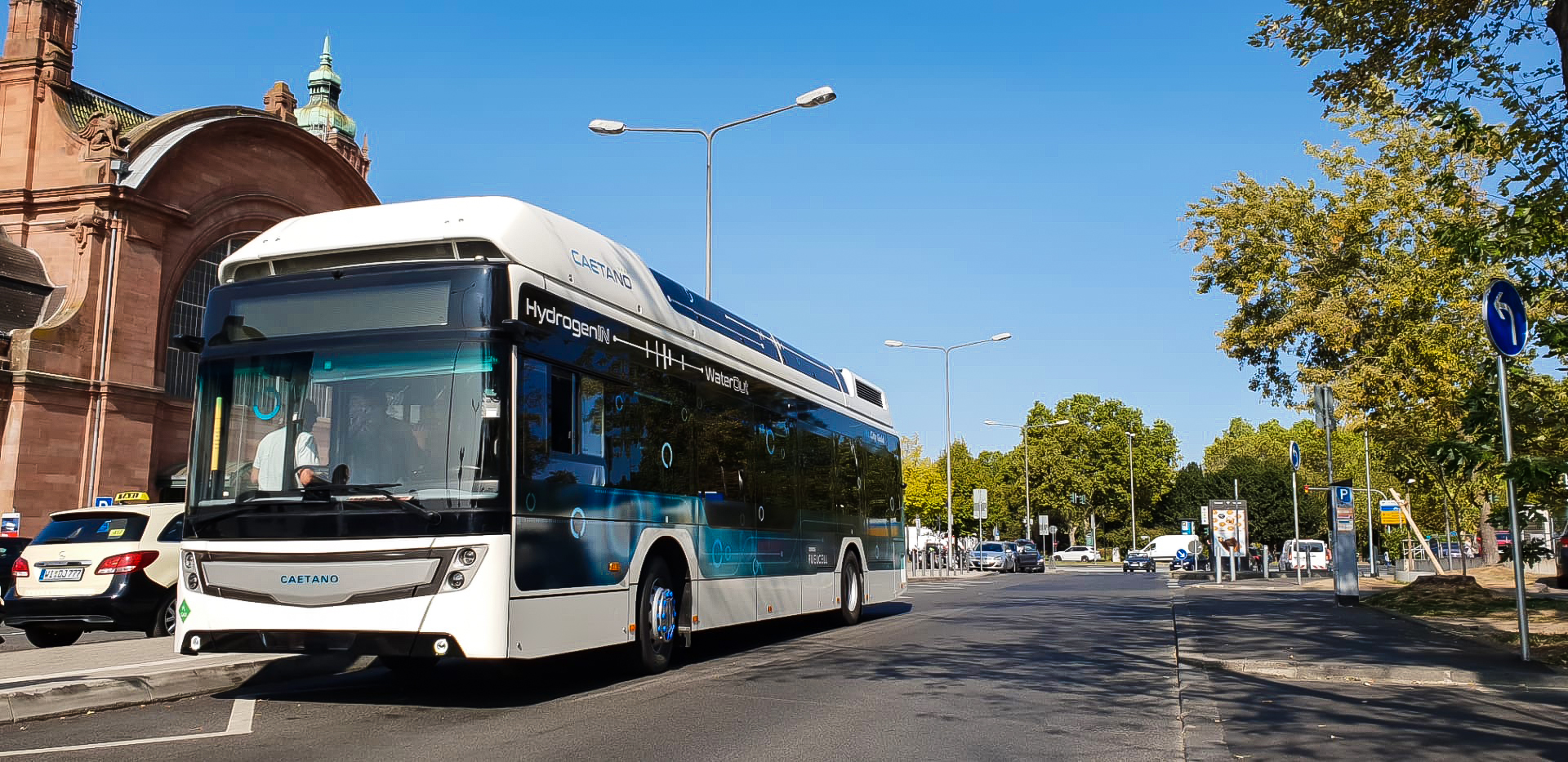 More Caetano hydrogen buses for Germany