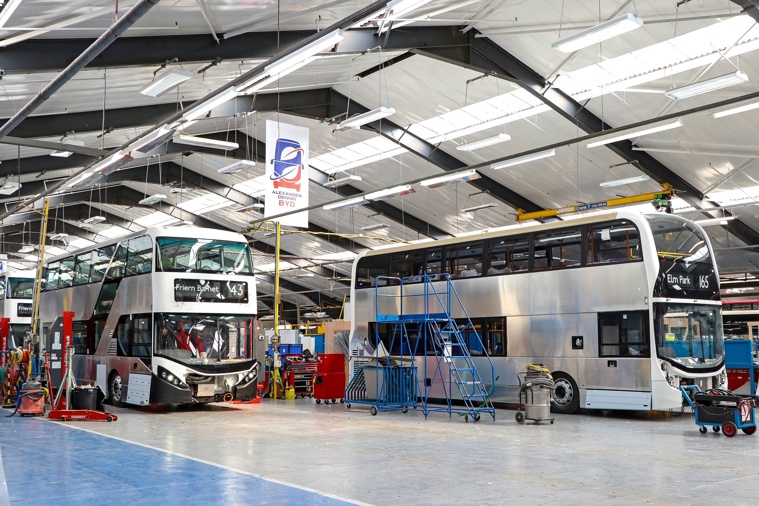 BYD/ADL electric chassis to be assembled in UK
