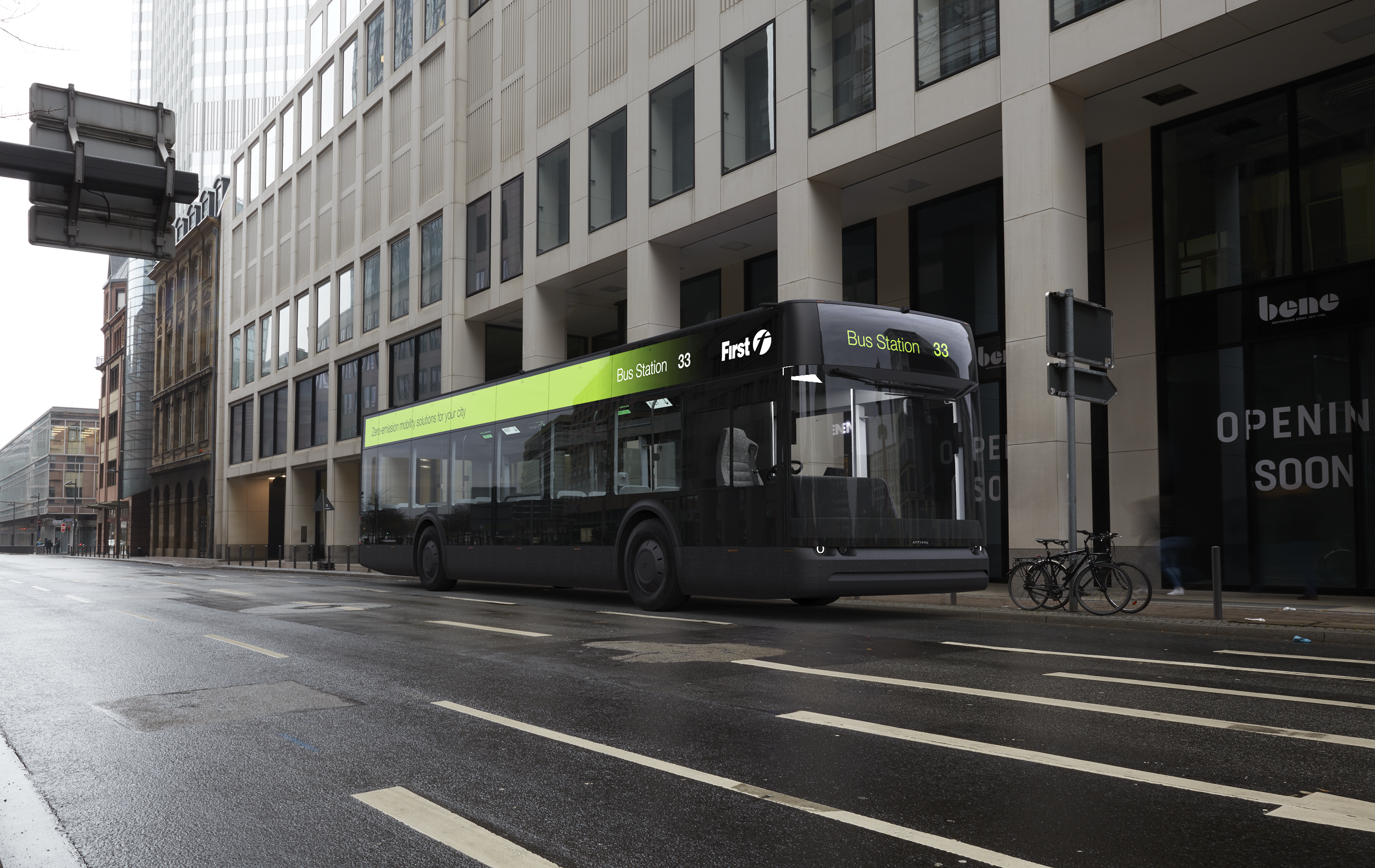 Arrival electric bus to be trialled with First