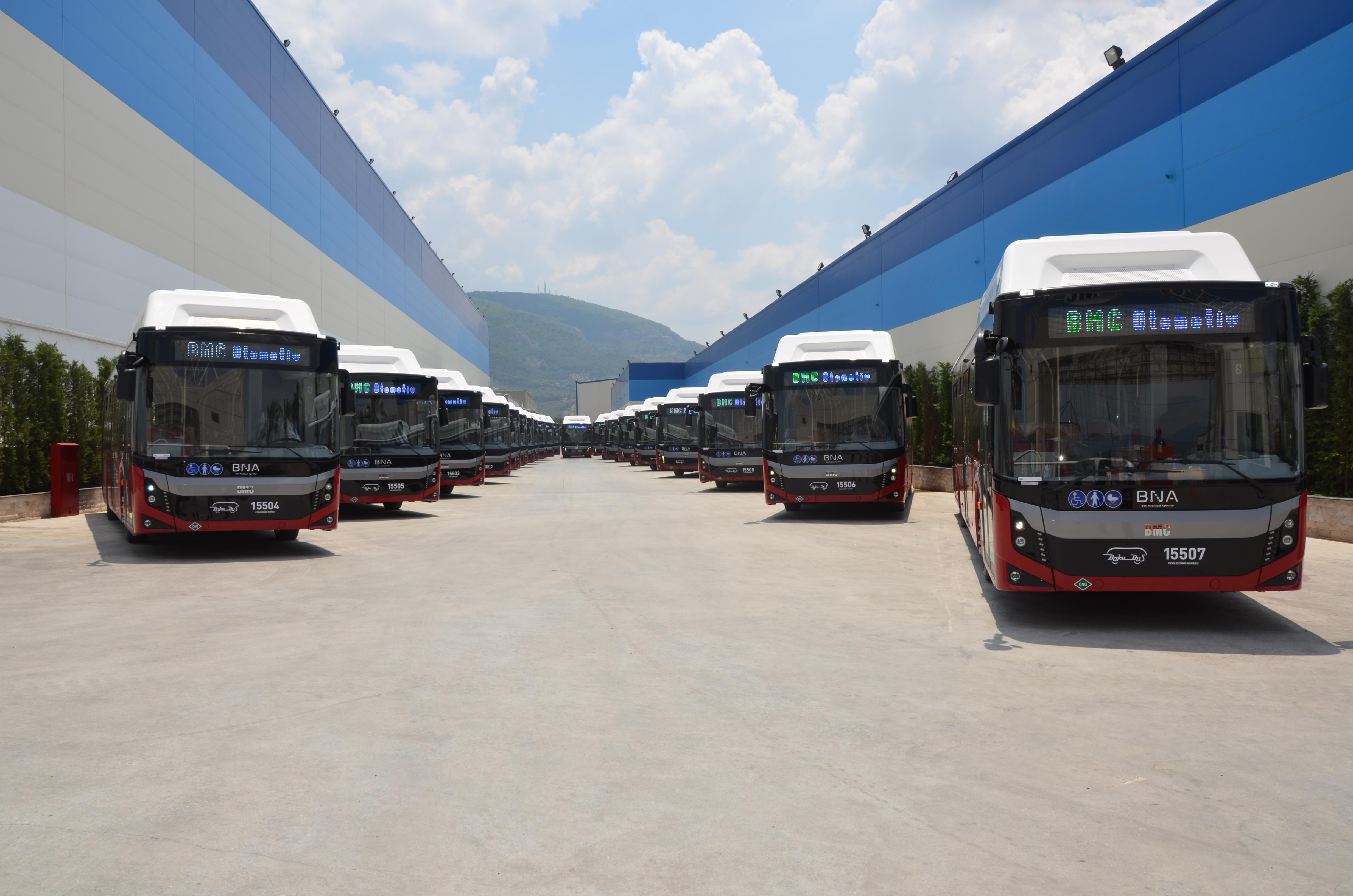 Cummins supplies gas engines for Azerbaijan buses