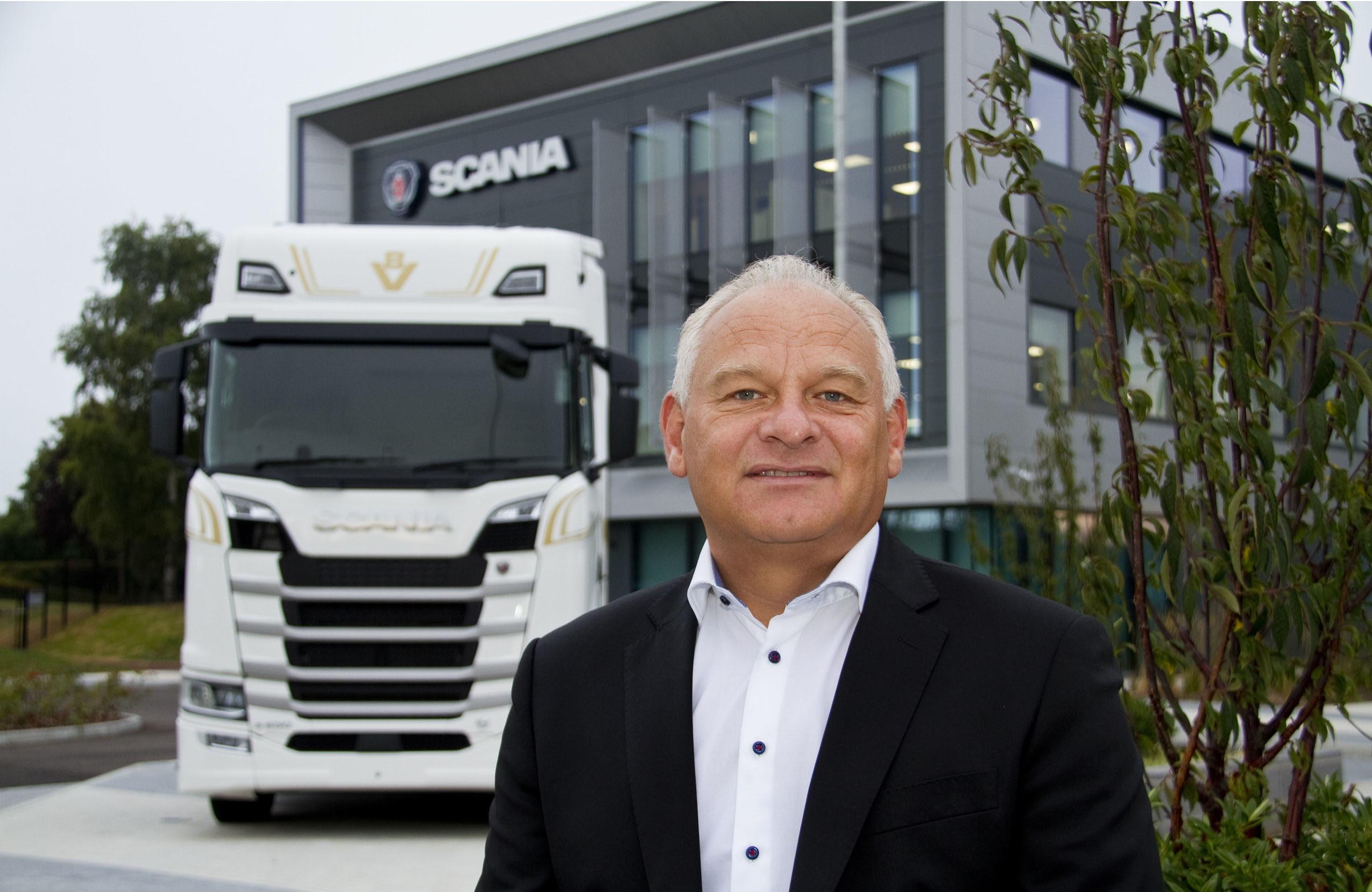Martin Hay steps down at Scania