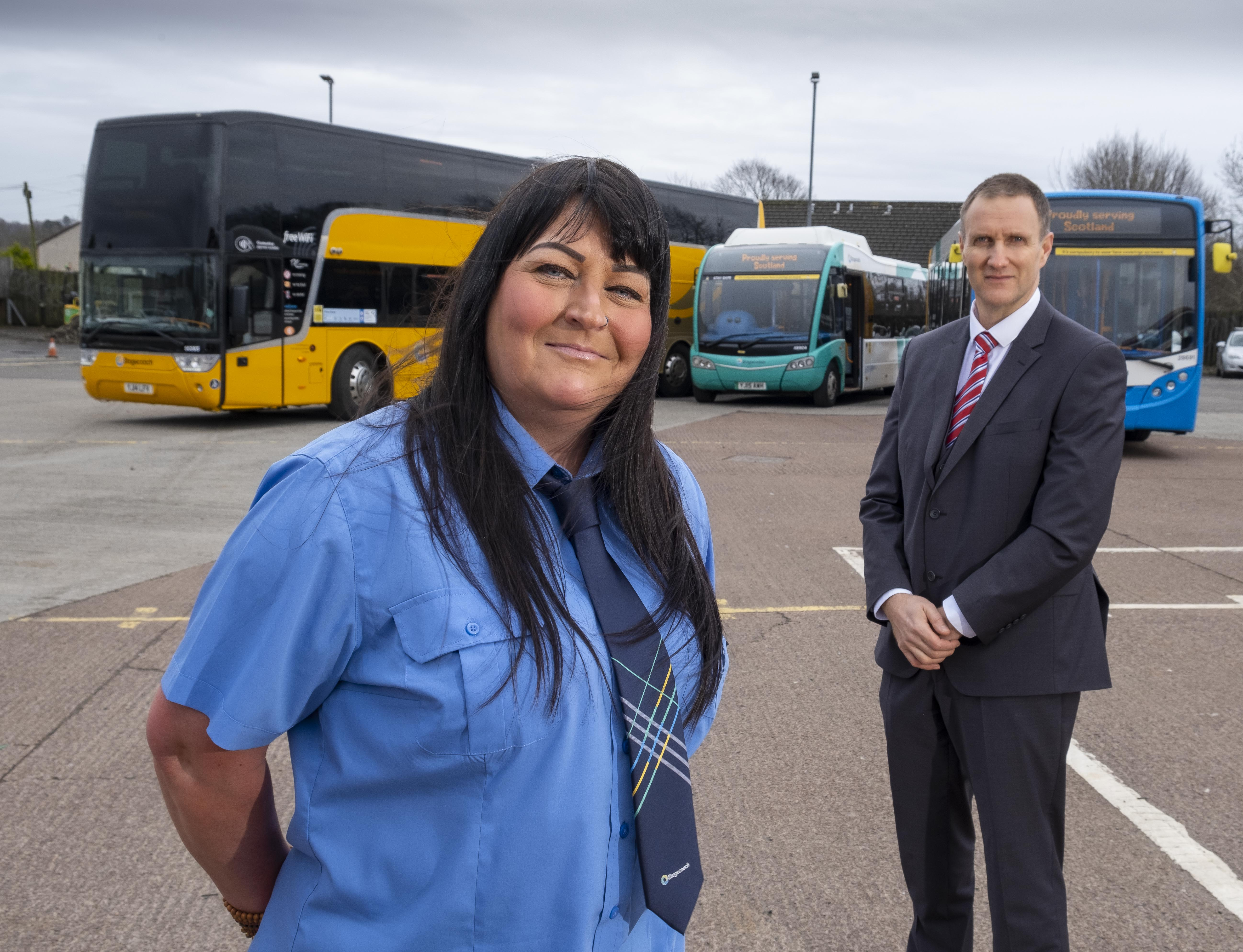 Stagecoach makes Scottish coach fares simpler
