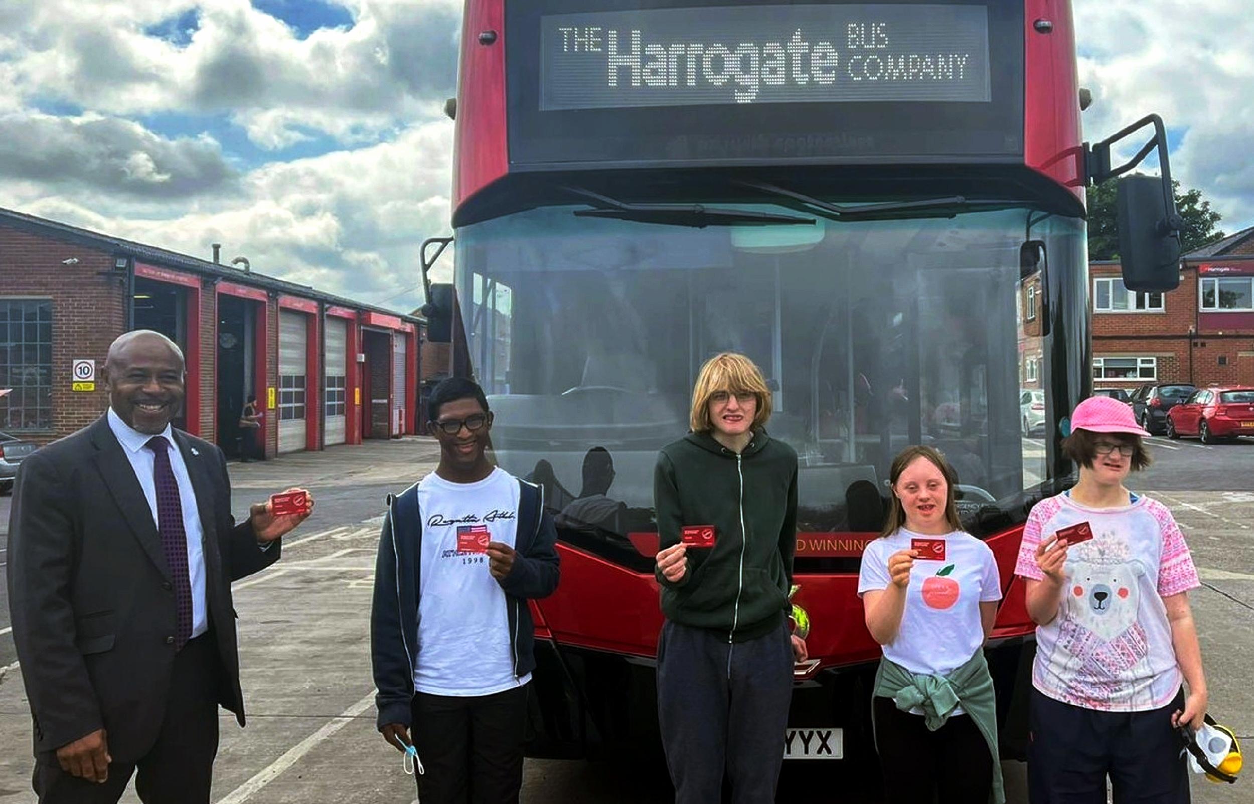 Harrogate Bus Company helps students