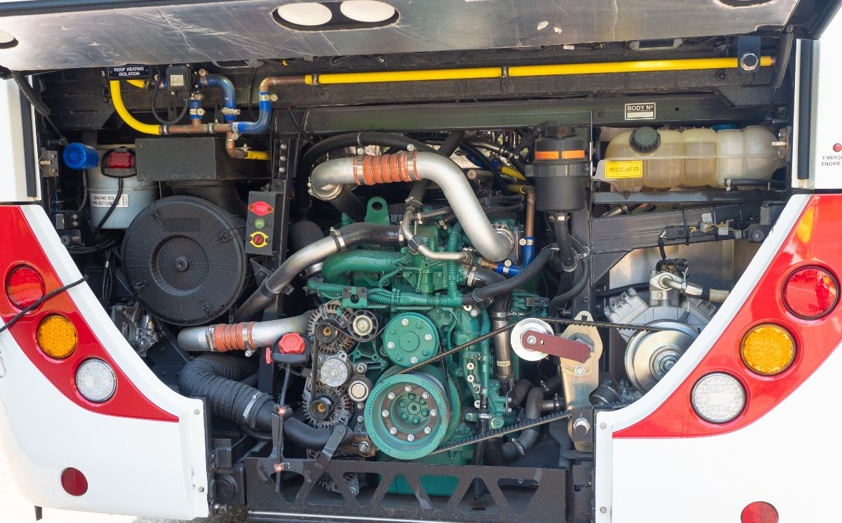 The Volvo B8R is an impressive chassis