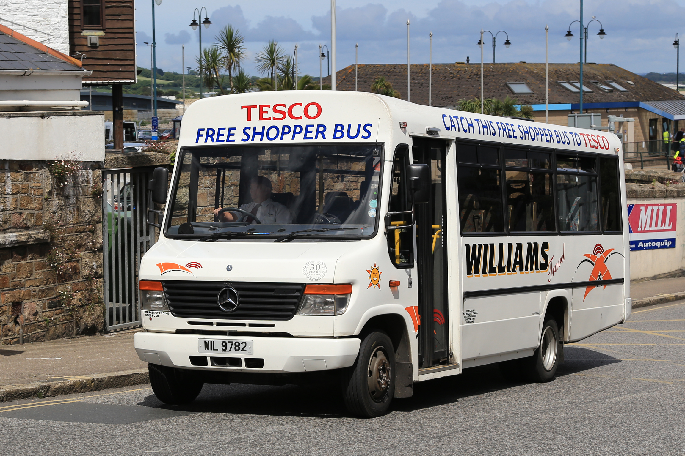 Tesco cancels selected free buses