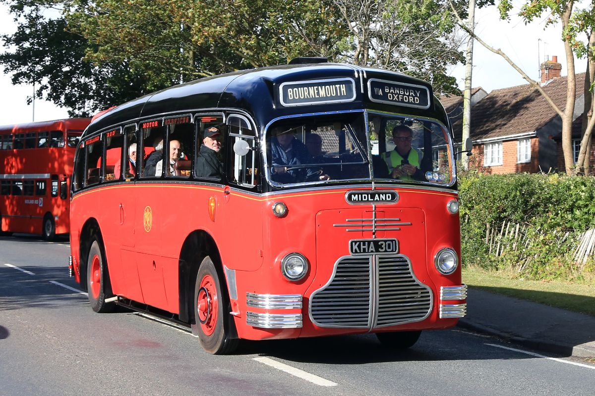 The newly restored C1 leaves the Maypole