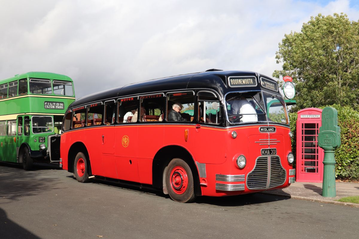Entering service from 1948, the C1 coach class was bodied by Duple and carried out lengthy tours as well as more local private hire work. This particular coach was retained for many years to carry the company band and other members of the class became trainers